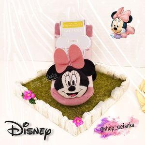 🎁 Minnie Mouse Disney Newborn Rattle Socks 💫